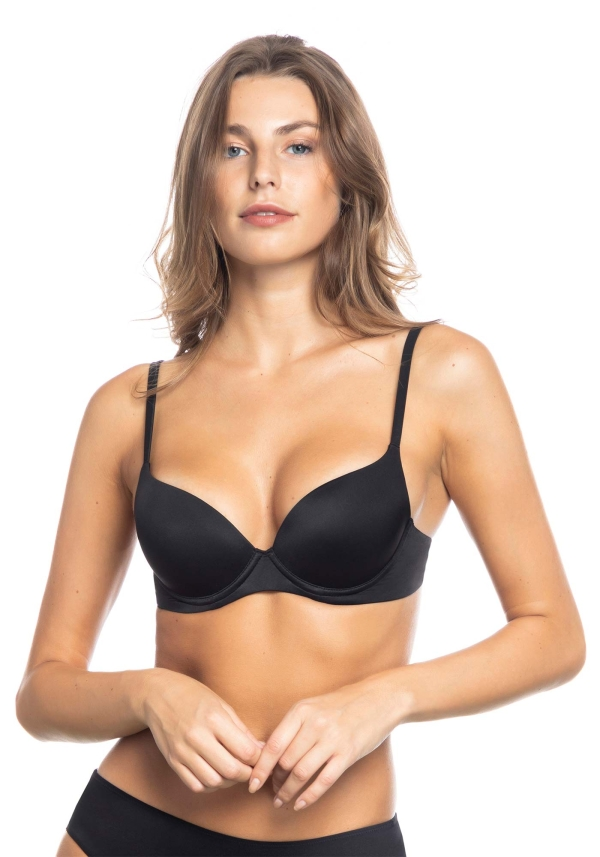 Reggiseno super push-up in microfibra soft touch